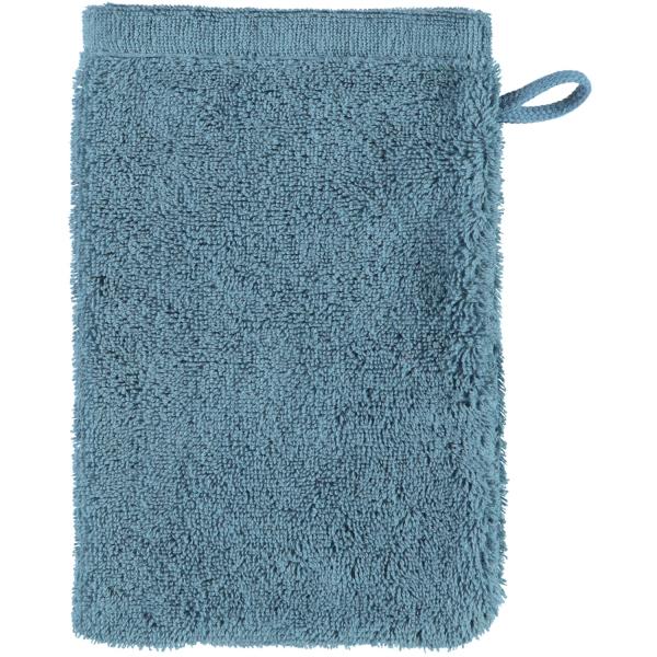 Cawö - Life Style Uni 7007 - Farbe: petrol - 400 Waschhandschuh 16x22 cm
