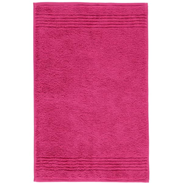 Cawö Essential Uni 9000 - Farbe: pink - 247 Gästetuch 30x50 cm