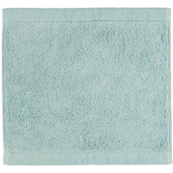 Cawö - Life Style Uni 7007 - Farbe: seegrün - 455 Seiflappen 30x30 cm