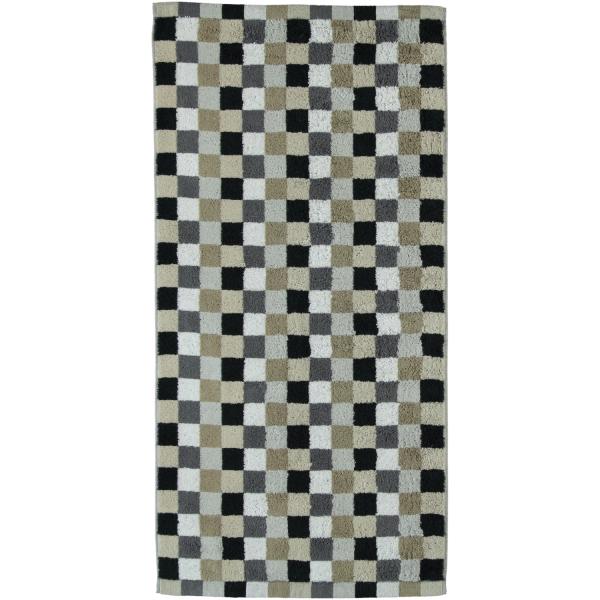 Cawö - Life Style Karo 7047 - Farbe: 37 - kiesel Duschtuch 70x140 cm