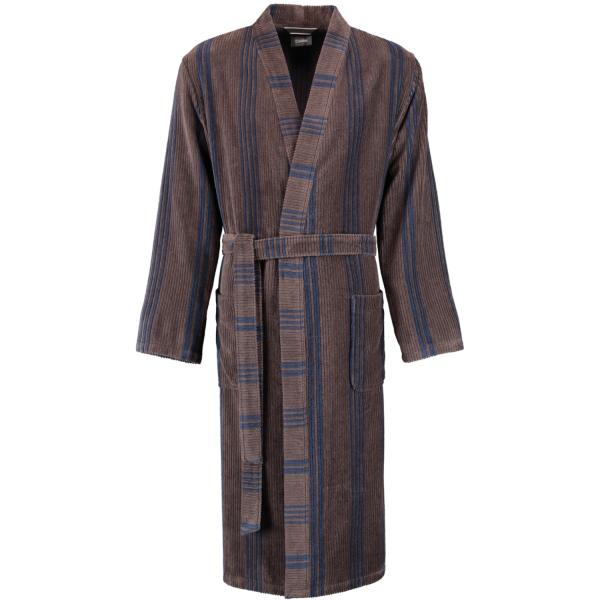 Cawö Herren Bademantel Kimono 2508 - Farbe: tabak - 31