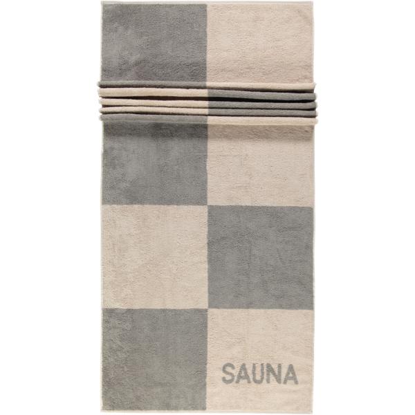 Cawö - Saunatuch 498 - 80x200 cm - Farbe: graphit - 73