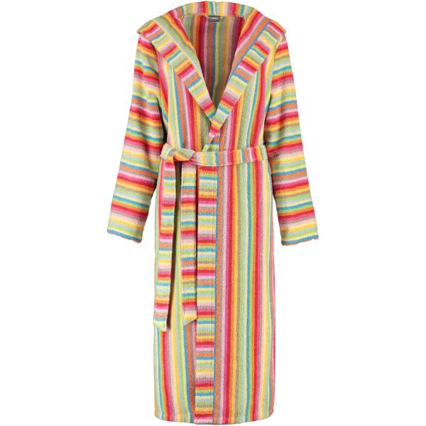 Cawö - Damen Bademantel Life Style - Kapuze 7081 - Farbe: multicolor - 25 S