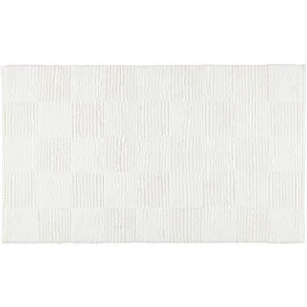Cawö Home - Badteppich 1005 - Farbe: weiß - 600 70x120 cm