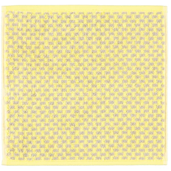 Cawö Reed Allover 956 - Farbe: lemon - 57 Seiflappen 30x30 cm