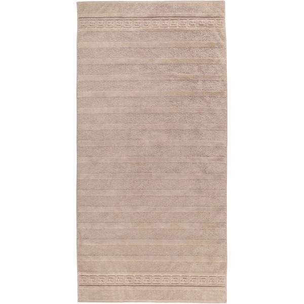 Cawö - Noblesse Uni 1001 - Farbe: 375 - sand Duschtuch 80x160 cm