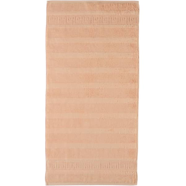 Cawö - Noblesse Uni 1001 - Farbe: 368 - lachs Handtuch 60x110 cm