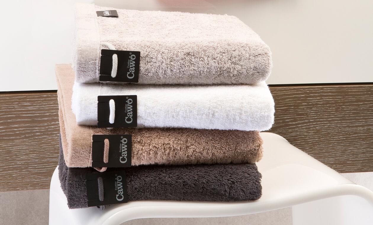 Cawö - Life Style Uni 7007 - Farbe: weiß - 600 Handtuch 50x100 cm Detailbild 1