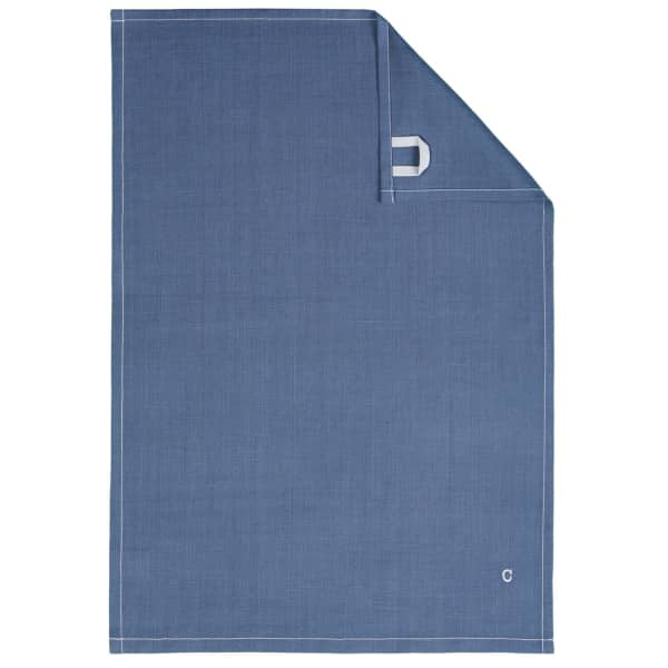 Cawö Home Solid 500 - Geschirrtuch 50x70 cm - Farbe: nachtblau - 111