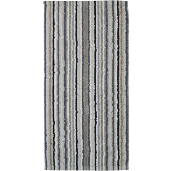 Cawö - Life Style Streifen 7048 - Farbe: 37 - kiesel Duschtuch 70x140 cm