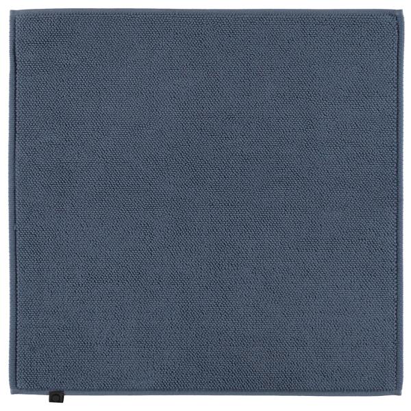 Cawö Home - Badteppich Loop 1007 - Farbe: nachtblau - 111 60x60 cm