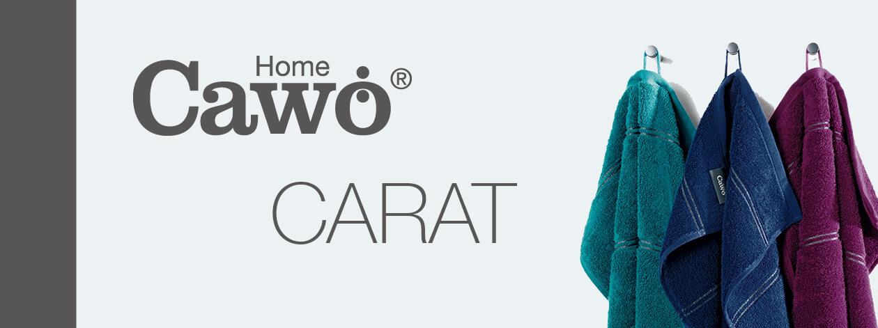 Cawö Carat Borte 580 - Farbe: platin - 705 Waschhandschuh 16x22 cm Detailbild 2