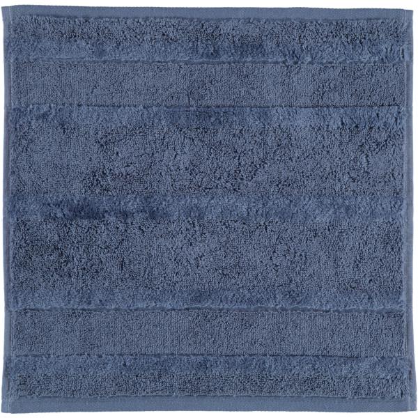Cawö - Noblesse2 1002 - Farbe: nachtblau - 111 Seiflappen 30x30 cm