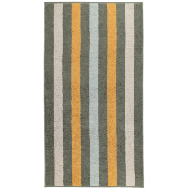 Cawö Heritage Stripes 4011 - Farbe: field - 44 Duschtuch 80x150 cm