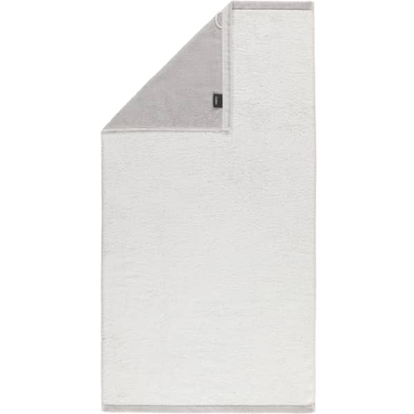 Cawö Plaid Doubleface 7070 - Farbe: weiß - 76 Duschtuch 70x140 cm