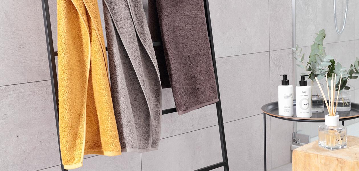 Cawö Heritage 4000 - Farbe: travertin - 366 Waschhandschuh 16x22 cm Detailbild 3