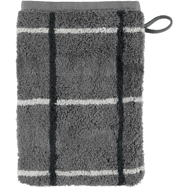 Cawö - Noblesse Square 1079 - Farbe: anthrazit - 77 Waschhandschuh 16x22 cm