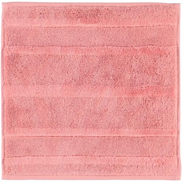 Cawö - Noblesse2 1002 - Farbe: rouge - 214 Seiflappen 30x30 cm