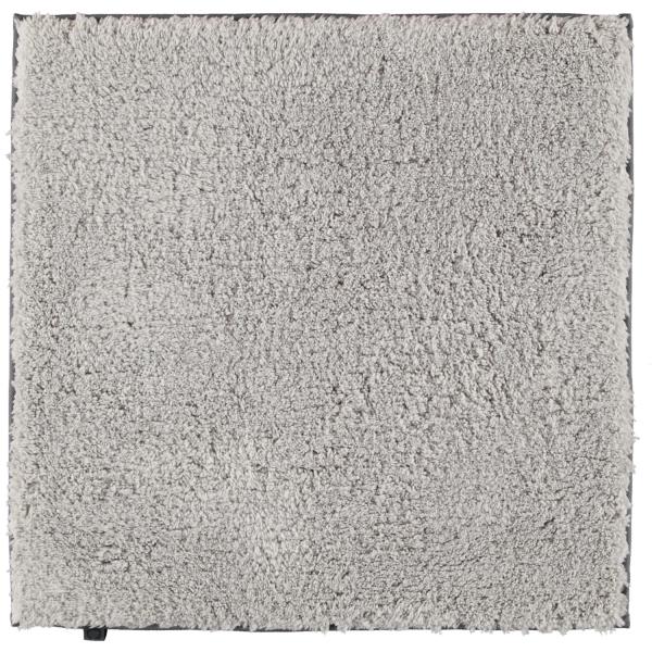Cawö Home Badteppich Frame 1006 - Farbe: platin - 705 60x60 cm