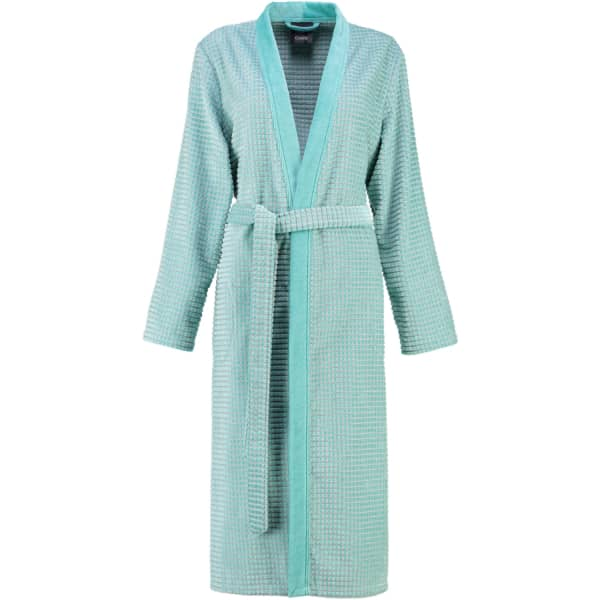 Cawö - Damen Bademantel Kimono 4346 - Farbe: mint - 47