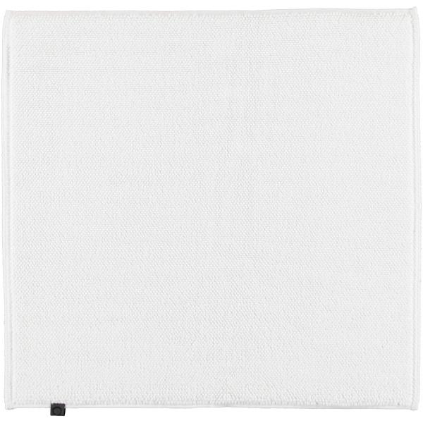 Cawö Home - Badteppich Loop 1007 - Farbe: weiß - 600 60x60 cm