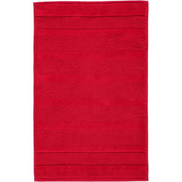 Cawö - Noblesse2 1002 - Farbe: rot - 203 Gästetuch 30x50 cm
