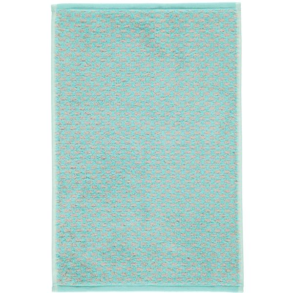 Cawö Reed Allover 956 - Farbe: mint - 47 Gästetuch 30x50 cm