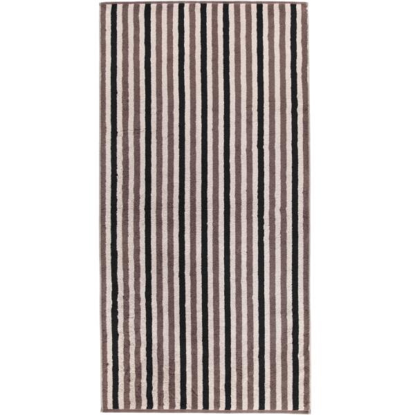 Cawö Tape Streifen 103 - Farbe: pepper - 39 Duschtuch 70x140 cm